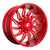 20x10 8x170 4.79BS D745 Saber Candy Red - Fuel Off-Road