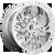 20x9 6x5.5 5.04BS D746 Lockdown Chrome - Fuel Off-Road