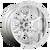 22x12 6x5.5 4.77BS D748 Hammer Chrome - Fuel Off-Road