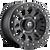 15x7 4x156 4.51BS D920 Vector Matte Black - Fuel Off-Road