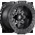 14x8 4x156 4.5BS D928 Maverick Matte Black - Fuel Off-Road