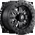 14x7 4x137 5.5BS D938 Maverick Matte Milled - Fuel Off-Road
