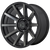 18x9 8x170 5.47BS XD847 Outbreak Satin Black - XD Wheels