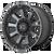 20x9 6x5.5/6x135 5BS XD852 Gauntlet Satin Black With Grey Tint - XD Wheels