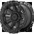 20x9 5x150/5x5.5 5BS XD852 Gauntlet Satin Black - XD Wheels