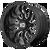 20x10 8x180 4.79BS XD858 Tension Gloss Black Milled - XD Wheels
