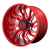 22x10 8x6.5 4.79BS XD858 Tension Candy Red Milled - XD Wheels
