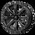 14x7 4x137 4.39BS M42 Bounty Satin Black Milled - MSA Wheels