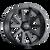 17x9 8x6.5 5.71BS Type 143 Matte Black - Ion Wheel
