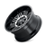 20x10 5x5/5x5.5 4.75BS Type 144 Black w/Machined Face - Ion Wheel
