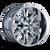 20x10 5x5/5x5.5 4.52BS 9101 Americana Chrome - Cali Off Road