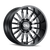 22x10 8x170 5.5BS 9110 Summit Gloss Black/Milled Accents - Cali Off Road
