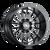 22x10 8x6.5 5.5BS 9110 Summit Gloss Black/Milled Accents - Cali Off Road