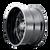 20x10 8x6.5 4.75BS 8112 Essex Gloss Black/Milled Spokes Spokes - Mayhem Wheels