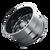 20x9 6x5.5/6x135 5BS 8112 Essex Gloss Black/Milled Spokes - Mayhem Wheels