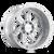 22x12 8x6.5 4.49BS 9111 Sevenfold Brushed - Cali Off Road