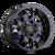 20x10 5x5 4.52BS 8015 Warrior Black w/Prism Red - Mayhem Wheels