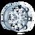 18x9 5x5 5.71BS 8015 Warrior Black Chrome - Mayhem Wheels