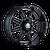 22x10 6x135 4.75BS 8100 Monstir Black/Milled Spokes - Mayhem Wheels