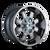 22x12 8x170 4.77BS 8103 Fierce Chrome - Mayhem Wheels