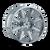 22x12 6x135 4.77BS 8104 Arsenal Chrome - Mayhem Wheels