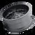20x9 6x135 5.51BS 8107 Cogent Matte Black - Mayhem Wheels