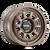 17x8.5 5x5 4.75BS 8303 Voyager Dark Bronze - Mayhem Wheels