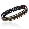 Magnetic bracelet jewelry Novoa Men's  Stainless  Gold Accents  B422JD
