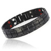 magnetic-bracelet-jewelry   Gloss Black Magnetic Bracelet B246QD