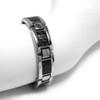 "<img src=""mens  magnetic bracelet .png"" alt=""casual magnetic therapy jewelry  strong  top view    Magnetic Bracelet Novoa Men's Quad-Element Satin Stainless  B072J   Novoa Men's Quad-Element Polished Silver Titanium Magnetic Bracelet with Carbon Fiber Inlays  "">"