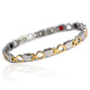 Magnetic bracelet Novoa Women 's Quad-Element Titanium Heart Magnetic Bracelet - 12,800 Gauss B185J
