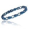 """<img src="""" womens titanium .png"""" alt=""""casual magnetic therapy jewelry  strong  top view       Magnetic  bracelet Jewelry Novoa Women 's Quad-Element  B185QN-0  """">"""