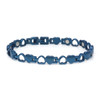 """<img src="""" womens titanium magnet bracelet .png"""" alt=""""casual magnetic therapy jewelry  strong  top view       Magnetic  bracelet Jewelry Novoa Women 's Quad-Element  B185QN-0  """">"""