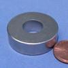 "N52 Ring Magnet Neodymium OD 1.26 x ID 1/2 x 3/8"""
