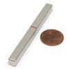 """N52 3""""x 1/4""""x 1/4"""" Neodymium Rare Earth Bar Magnet"""
