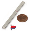"N52 3""x 1/4""x 1/8"" Neodymium Rare Earth Bar Magnet"