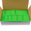 30 Piece Green Magnetic Holders 2X1X0.45""