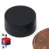 "N52 Disc 1/2""X1/4"" NdFeB Rare Earth Plastic coated"