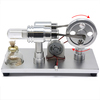 Stirling Engine Model for Magnetic Science