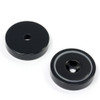 black round base magnets