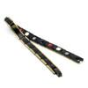Magnetic Bracelet Novoa Women 's Titanium Germanium Gold & Frosted Black with Satin Accents - B561JD