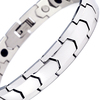 Magnetic Bracelet Novoa Men's Quad-Element Titanium Silver B563