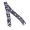 Magnetic Bracelet Novoa Men's  Black Titanium  B503QD