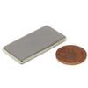 "N50 Neodymium Magnet 1 1/2x3/4x1/8"" Rectangular Rare Earth Magnet Flat Magnet"