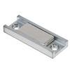 "95 LB Bar Magnet in Channel 2 x 3/4 x 1/4"" | Rectangular Neodymium Pot Magnet"