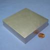 "N42 4""x4""x1"" Neodymium Rare Earth Block Magnet"