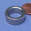 "N42 0.786""OD x 0.546""ID x 0.300"" Neodymium Rare Earth Ring Magnet"