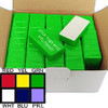 50 Pieces Magnetic Whiteboard Holders Green Plastic Coated