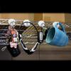 Ceramic Magnetic White Hook