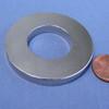 "Ring Magnet  Neodymium  N45  OD 2"" x ID 1"" x 1/4"" Thick"